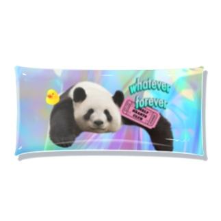 ホログラム&panda Clear Multipurpose Case