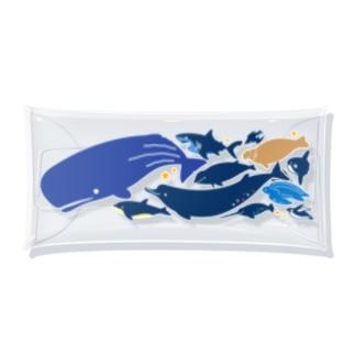 深海魚C Clear Multipurpose Case