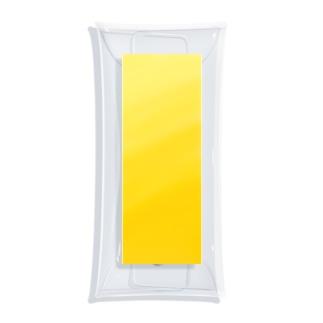 Custard Mustard Clear Multipurpose Case