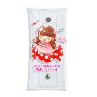 キャンディーおしのちゃん Clear Multipurpose Case