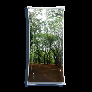 或る by 千~sahasraのwoods and soil Clear Multipurpose Case