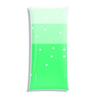 ドットクリームソーダ Clear Multipurpose Case