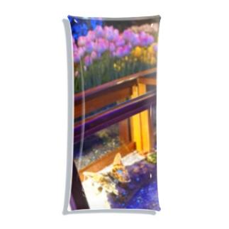 ガラスの蝶** Clear Multipurpose Case