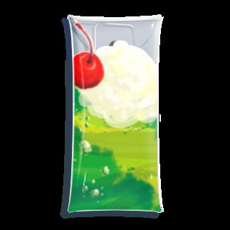 ruki_20150529のメロンソーダ Clear Multipurpose Case