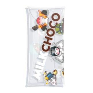 ミルクチョコオンライン Clear Multipurpose Case