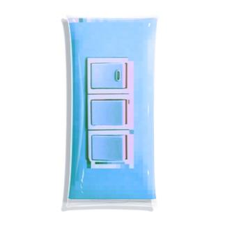 照明スイッチさわやかバグ Clear Multipurpose Case