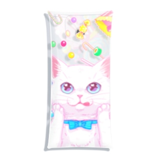Cat meet candy Clear Multipurpose Case
