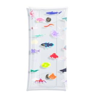 カラフル深海生物 Clear Multipurpose Case