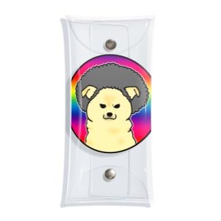 アフロ雑種犬 Clear Multipurpose Case