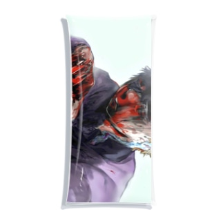 かえりみちの返り血 Clear Multipurpose Case