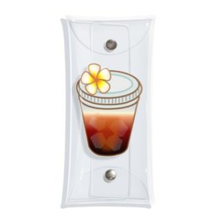 アイスコーヒー Clear Multipurpose Case