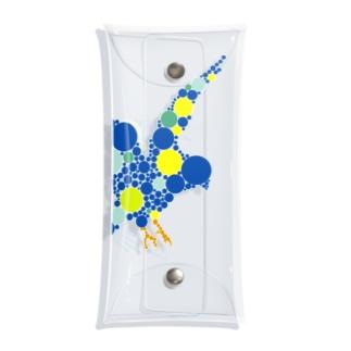 bluebird. Clear Multipurpose Case