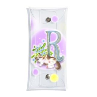 flower&cat R Clear Multipurpose Case