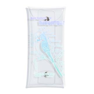 ジャンボセキセイプロポーション/ミルクグラデ Clear Multipurpose Case