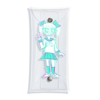 人生終わっちゃった☆ Clear Multipurpose Case