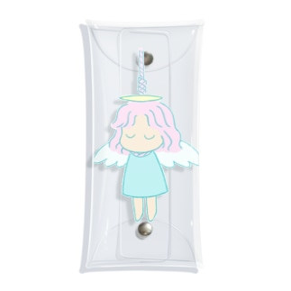 首吊り天使ちゃん Clear Multipurpose Case