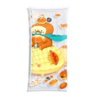 toshimaruのパンキング行進 Clear Multipurpose Case