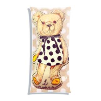 水玉のクマ Clear Multipurpose Case