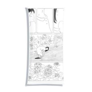 紫陽花のかべ Clear Multipurpose Case