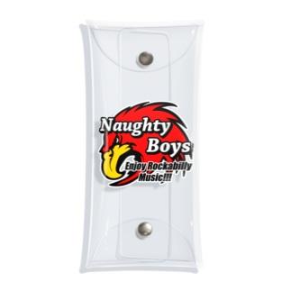 Naughty Boys  フルカラーキャラ Clear Multipurpose Case