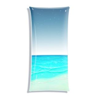 キャンディビーチの夜 Clear Multipurpose Case