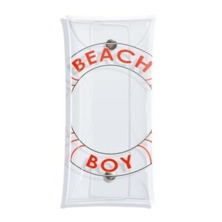 BEACH BOY Clear Multipurpose Case