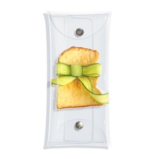きゅうりリボントースト Clear Multipurpose Case