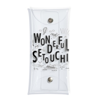 WONDERFUL SETOUCHI STANDARD Clear Multipurpose Case