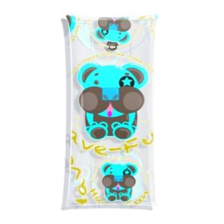 ベアHF-チョコミント1 Clear Multipurpose Case