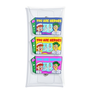 【 A PEACE OF CHEEZE 】 500円寄付アイテム / You Are Heroes Clear Multipurpose Case