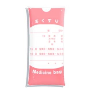 ORIGINAL∞『愛す』のお薬入れときなさい Clear Multipurpose Case
