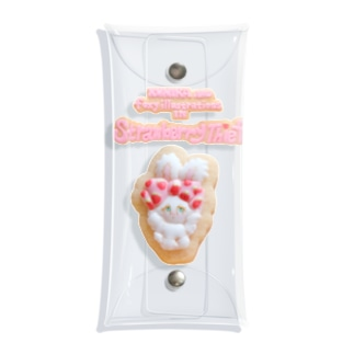 Cookie Bunny Multi Case Clear Multipurpose Case
