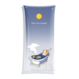 月光浴 Clear Multipurpose Case