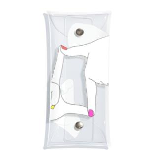 カラフル ネイル Clear Multipurpose Case