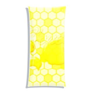 Honey!ミツバチハニー Clear Multipurpose Case