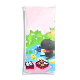おはなみピクニック Clear Multipurpose Case