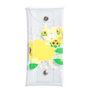 MOF-Island商店の夏だよ!ひまわりの妖精 Clear Multipurpose Case