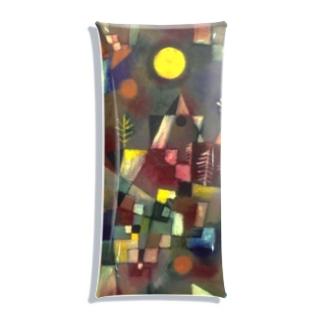 世界の絵画アートグッズのパウル・クレー 《満月》 Clear Multipurpose Case