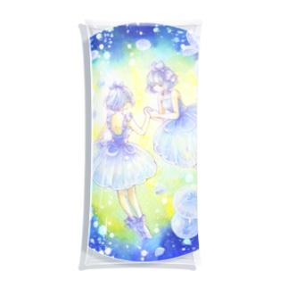 くらげのドレス Clear Multipurpose Case