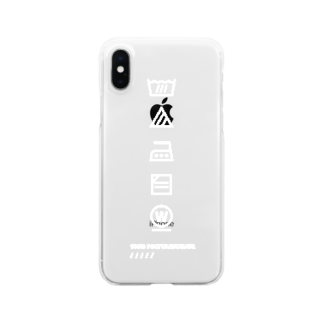 aminaの#wash_tag Clear smartphone cases