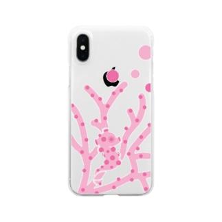 hitohana ピグミーシーホース Clear smartphone cases