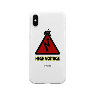HIGH VOLTAGE Clear smartphone cases