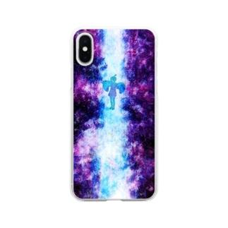 天使さん Clear smartphone cases