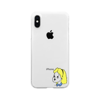 Alice Clear smartphone cases