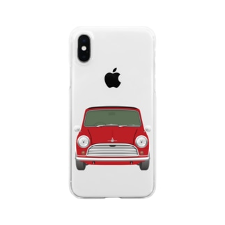 ミニクーパー Clear smartphone cases