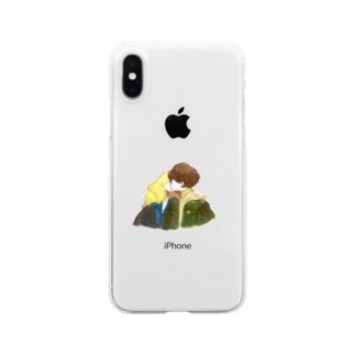 ふゆ Clear smartphone cases