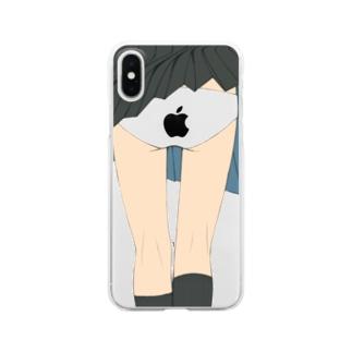 りんごぱんちら・クリアケース Clear smartphone cases