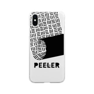 PEELER-07(B) Clear smartphone cases