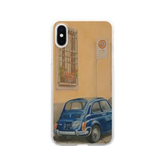 イタリア式駐車方法 Clear smartphone cases