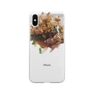 OKONOMIYAKI Clear smartphone cases